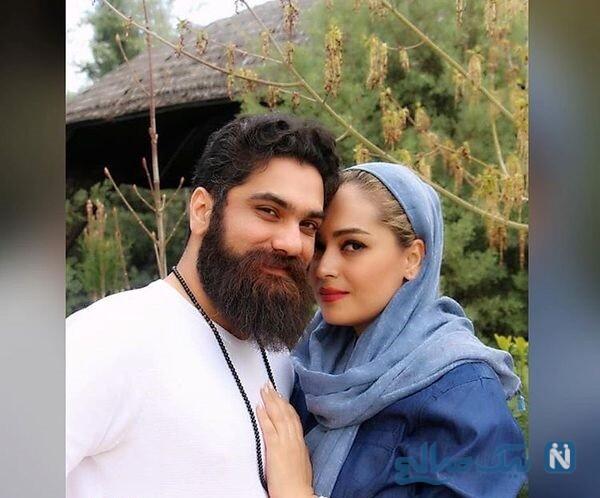 خواننده مرد و همسرش