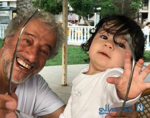 دختر نسرین نصرتی و علیرضا خمسه در پایتخت
