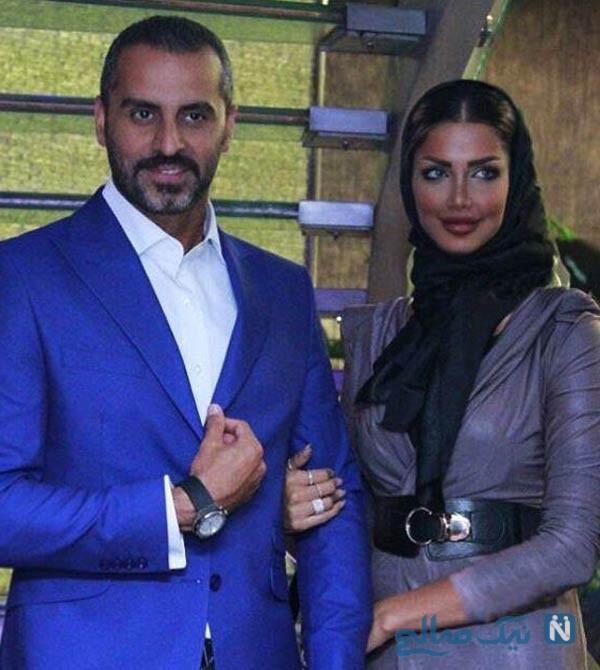 همسر علیرام نورایی با چهره ای خاص