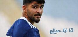 رنگ موی عجیب امیر عابدزاده فوتبالیست معروف ایرانی