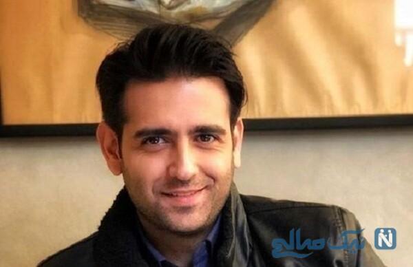 عکس کمتر دیده شده از نوجوانی امیرحسین آرمان بازیگر معروف