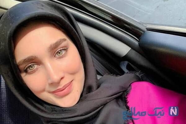 ساحل گردی آناشید حسینی همسر پسر سفیر ایران در دانمارک