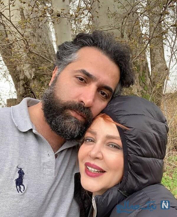 عکس جدید بهاره رهنما همسرش