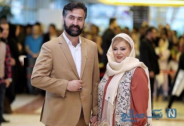 عکس تندیس بهاره رهنما و همسر خانم بازیگر