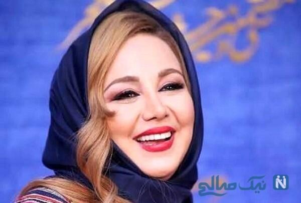 ست جالب بهنوش بختیاری بازیگر زن ایرانی با دکوراسیون