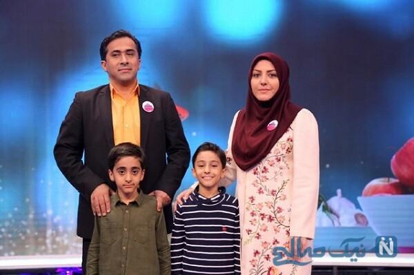 همسر و فرزندان خانم مجری
