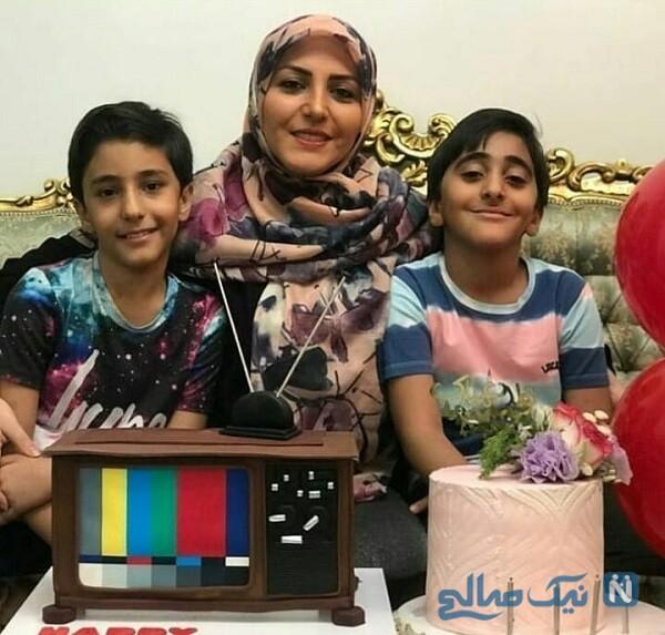 المیرا شریفی مقدم و پسرانش