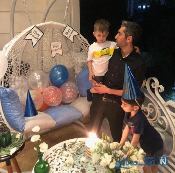 جشن تولد مجتبی جباری