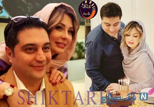 جشن تولد همسر نیوشا ضیغمی