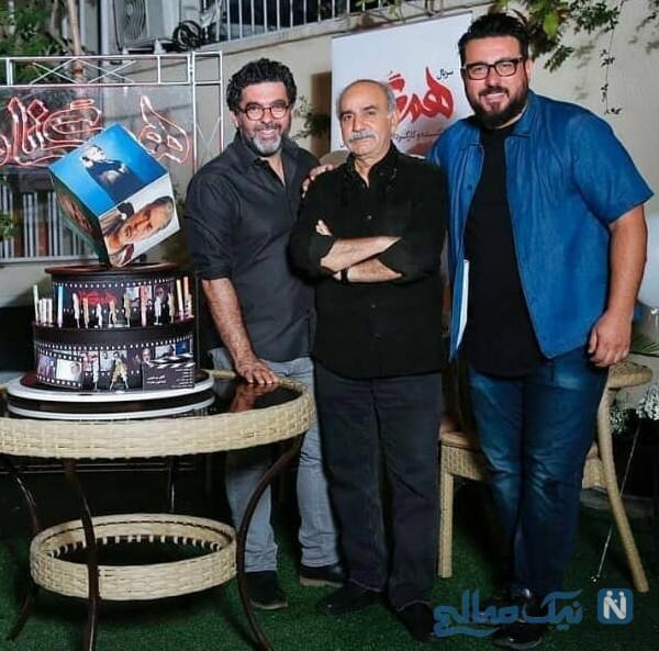 تولد پرویز پرستویی با حضور هنرمندان