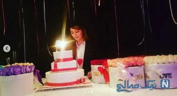 جشن تولد سحر قریشی