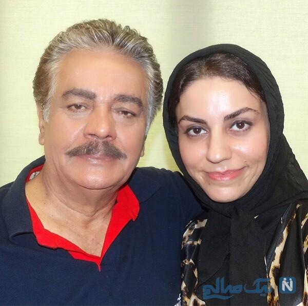 همسر چنگیز وثوقی بازیگر ایرانی