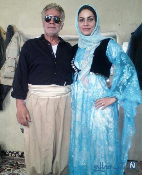 تبریک تولد همسر چنگیز وثوقی