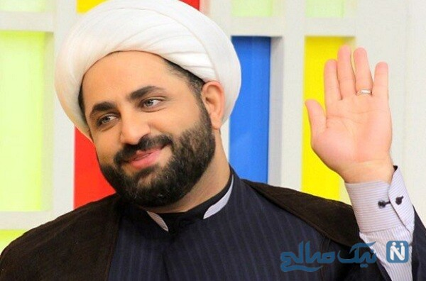حجت الاسلام محمد برمایی روحانی جنجالی تلویزیون درکنار سه دخترش