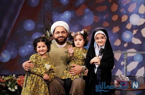 حجت الاسلام برمایی و دخترانش