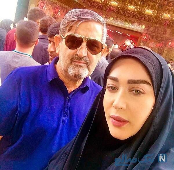 تصویری از پدر سارا منجزی پور