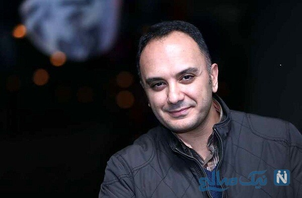 احسان کرمی بازیگر سریال همگناه و همسرش