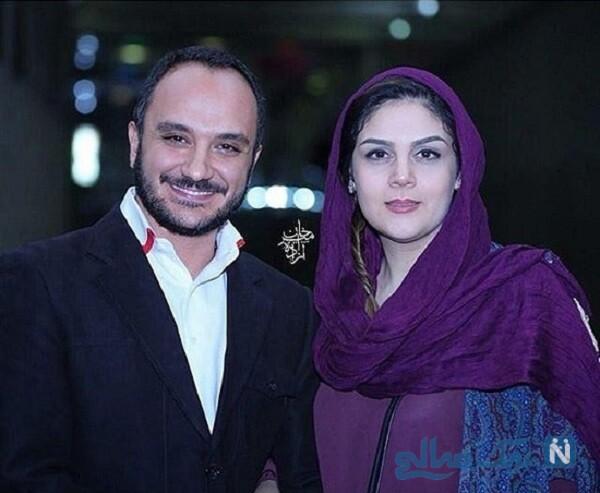 تصویری از احسان کرمی و همسرش