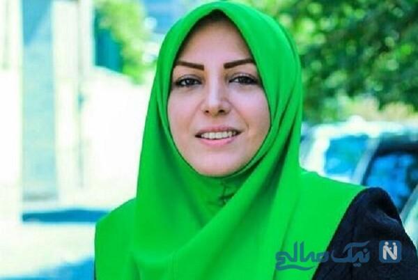 المیرا شریفی مقدم مجری معروف شبکه خبر و مادرش