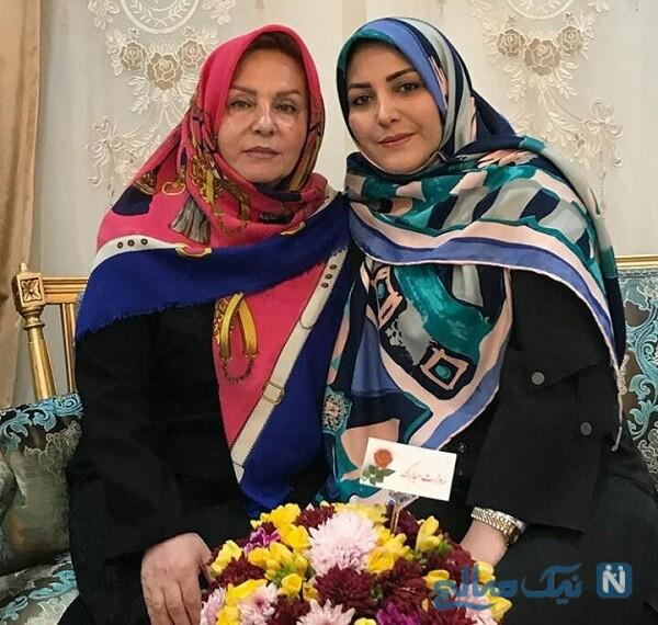 عکس جدید المیرا شریفی مقدم و مادرش