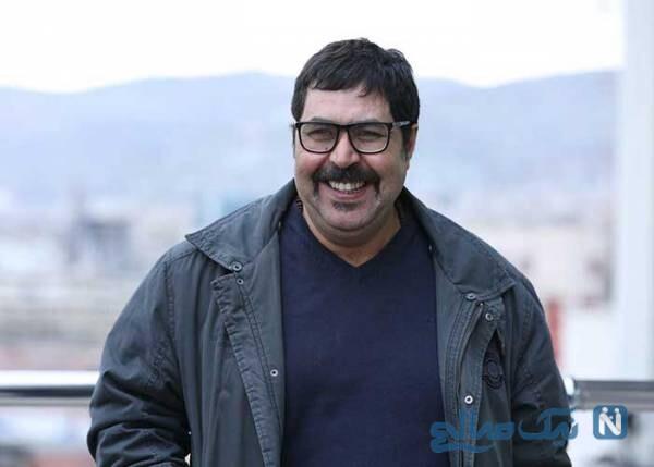 فرهاد اصلانی بازیگر معروف و همسرش