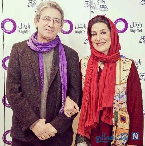 احمد حامد و همسرش