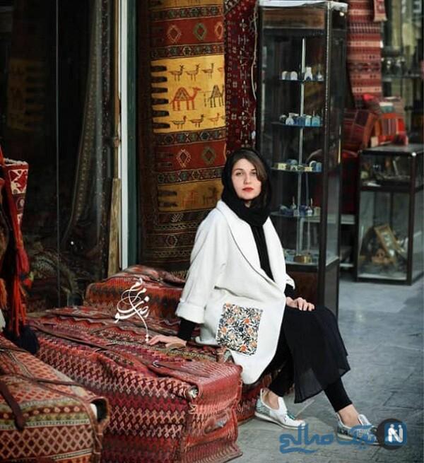همسر ساعد سهیلی گلوریا هاردی در اصفهان