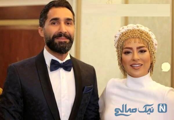 فیلم های عروسی هادی کاظمی و همسرش