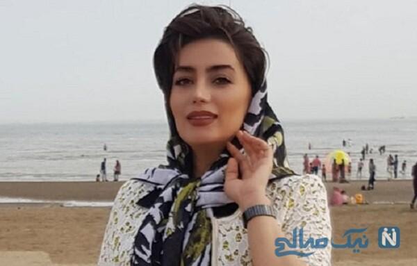 سوتی عجیب و غریب هدیه بازوند بازیگر سریال نون خ در کارواش