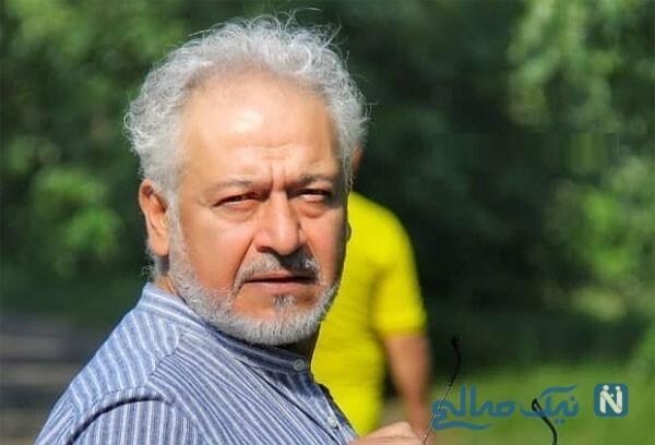مجید مشیری بازیگر خوش چهره سینما و تلویزیون و همسرش
