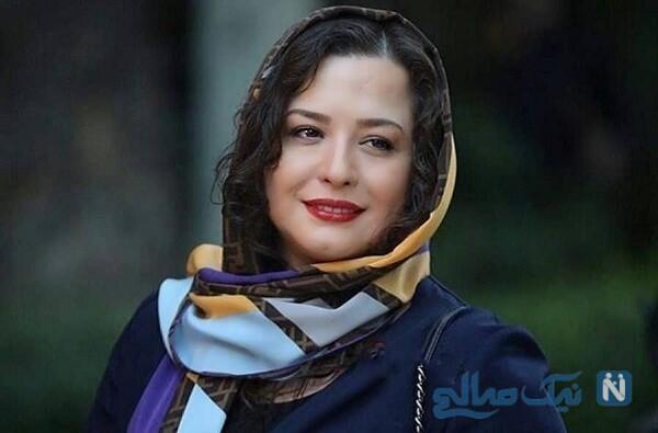 شوخی عجیب منوچهر هادی با مهرآوه شریفی نیا در پشت صحنه سریال دل