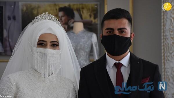 مراسم عروسی در روزهای کرونایی