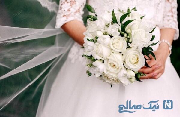 اضافه شدن ماسک به لباس عروس در شرایط کرونایی