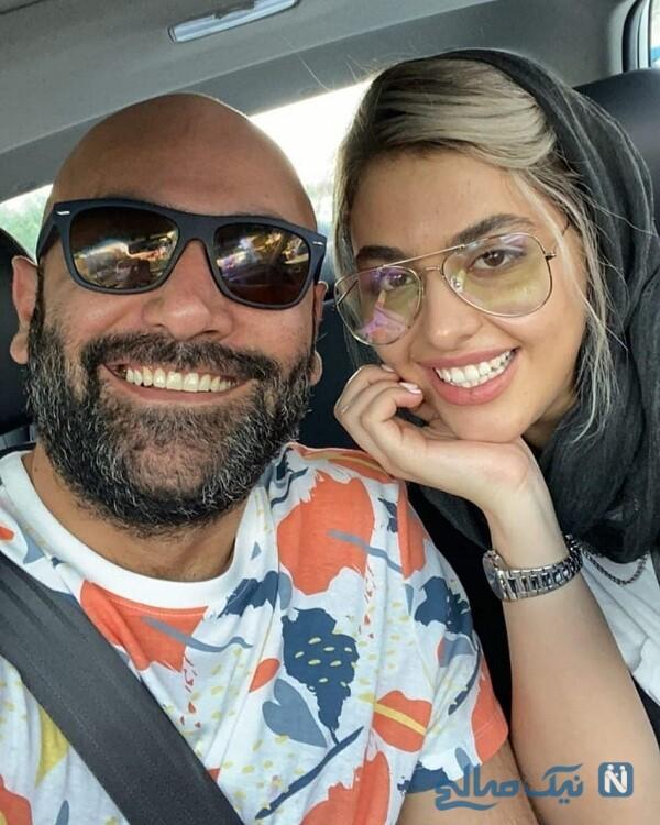 عکس جدید مهدی کوشکی و همسرش