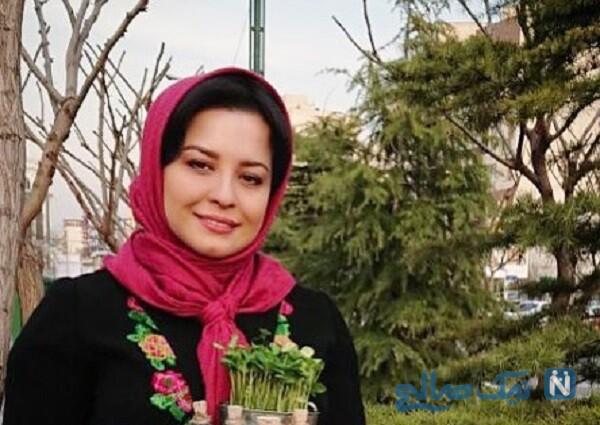گریم و آماده سازی مهراوه شریفی نیا برای سریال دل