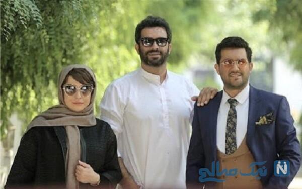 مهراوه شریفی نیا و حامد بهداد بازیگر دل