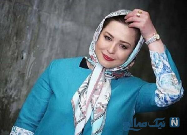 مهراوه شریفی نیا در لباس عروس بازیگر سریال دل