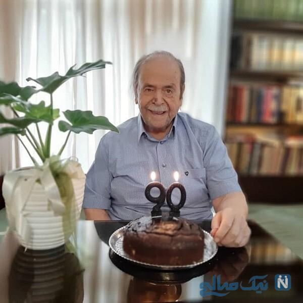 تولد 90 سالگی بازیگر پیشکسوت