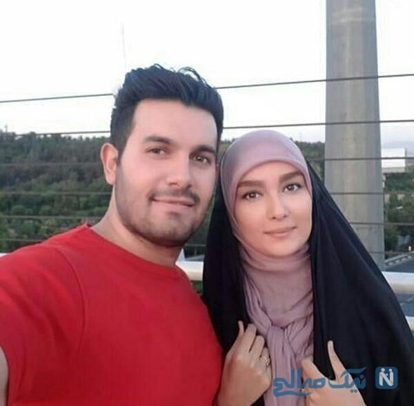 مژده خنجری و همسرش محمد زمان منفردی