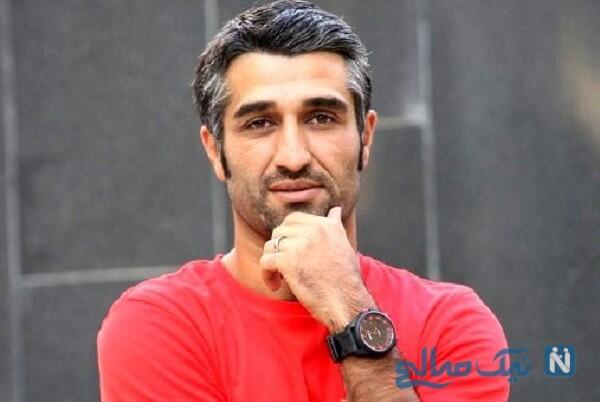 شباهت کم نظیر پژمان جمشیدی بازیگر زیرخاکی به پدر مرحومش