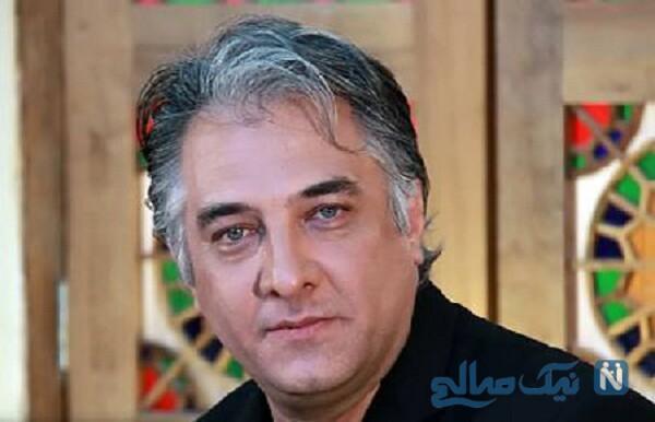 ایرج نوذری بازیگر معروف به اتفاق دخترانش دلربا و دلناز