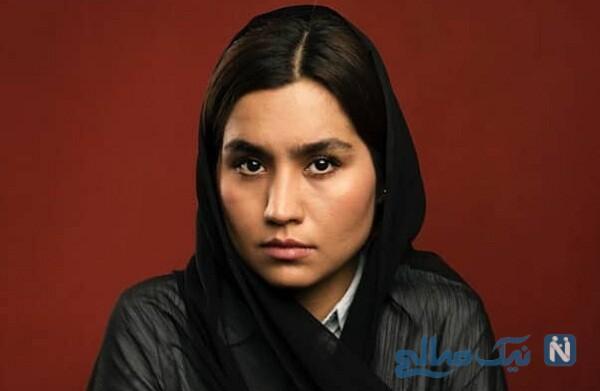 تصاویر زهرا دباغیان بازیگر نقش عطیه در بچه مهندس ۳