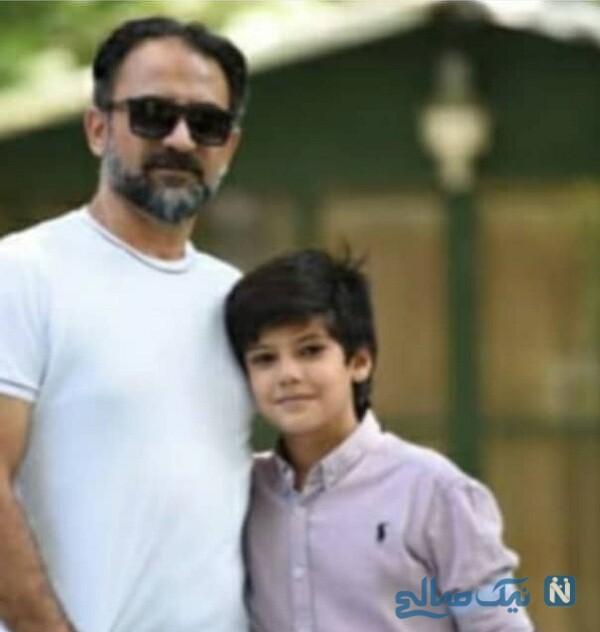 بازیگر ایرانی و پدرش
