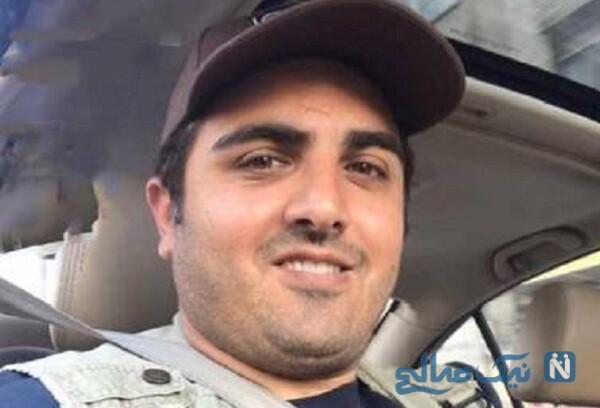 سلفی مهشید جوادی و سعید کریمی بازیگران سریال بچه مهندس