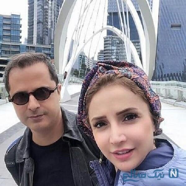 شبنم قلی خانی در شیراز و همسر خانم بازیگر