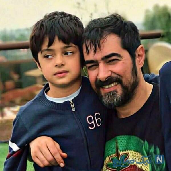 آقای بازیگر و پسر کوچکش