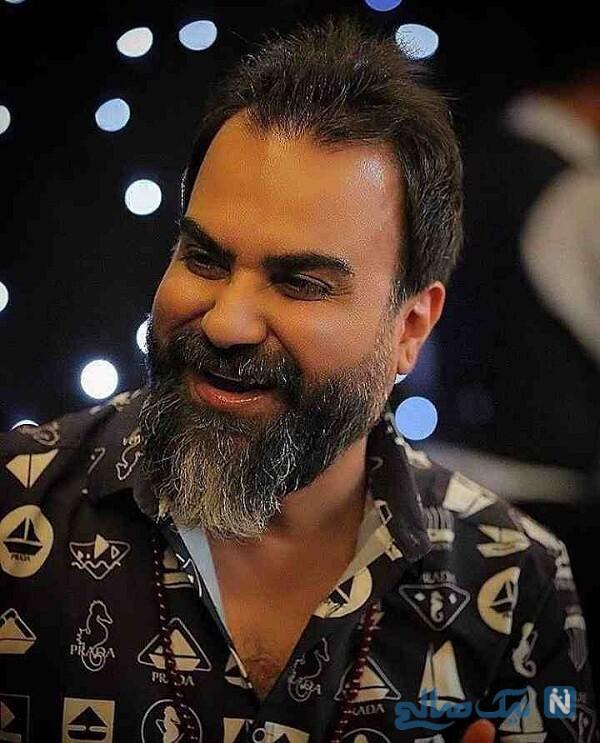 محمد رضا اعرابی خواننده معروف ایرانی