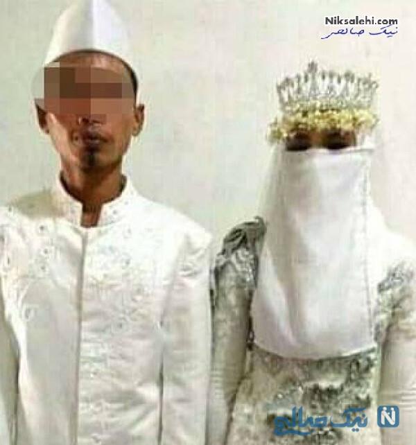 عروس و داماد اندونزیایی