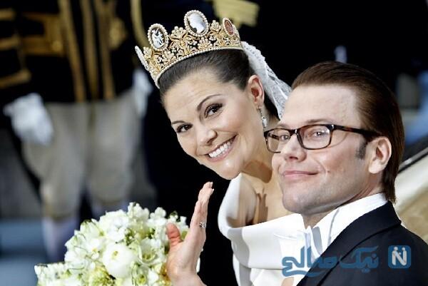 ویکتوریا و همسرش