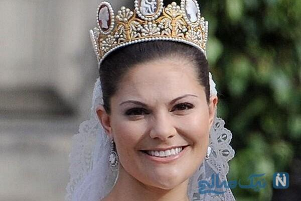 ماجرای تاج سلطنتی پرنسس ویکتوریا دختر پادشاه سوئد